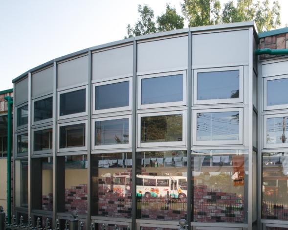 きたはら幼稚園 廊下改造工事(文教・公共施設)1