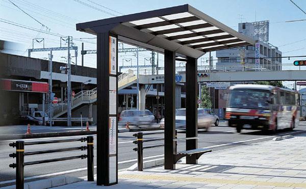 静岡鉄道清閑町西バス停1