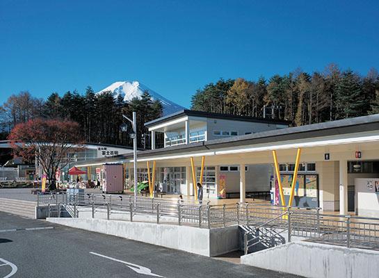 道の駅富士吉田1