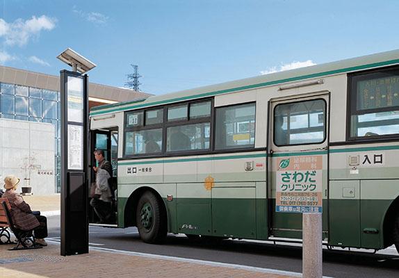 三内丸山遺跡前バス停1