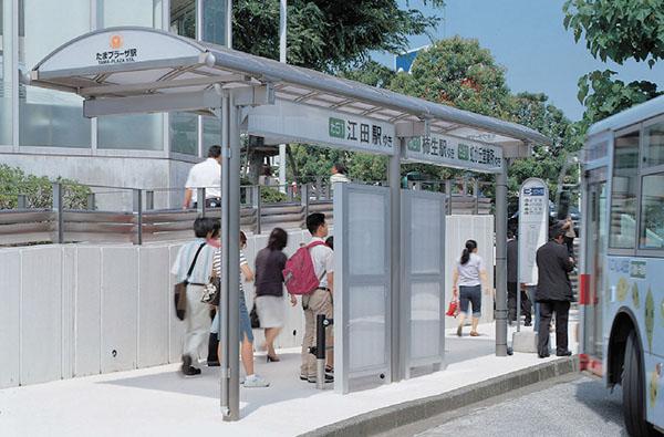 東急たまプラーザ駅北口広場バス停1