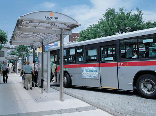 東急たまプラーザ駅北口広場バス停2