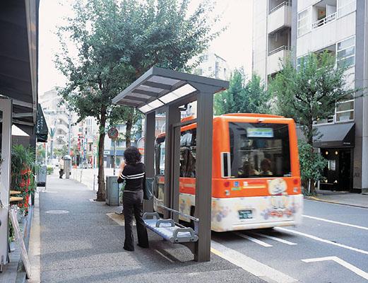 渋谷区コミュニティバス恵比寿区民施設バス停1