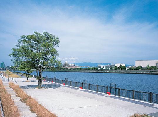 神崎川緊急船着場1