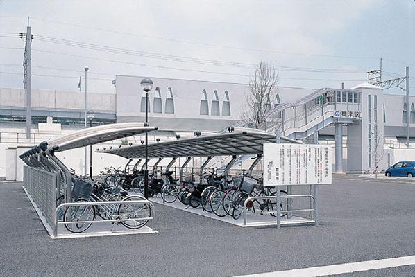 愛知環状鉄道貝津駅1