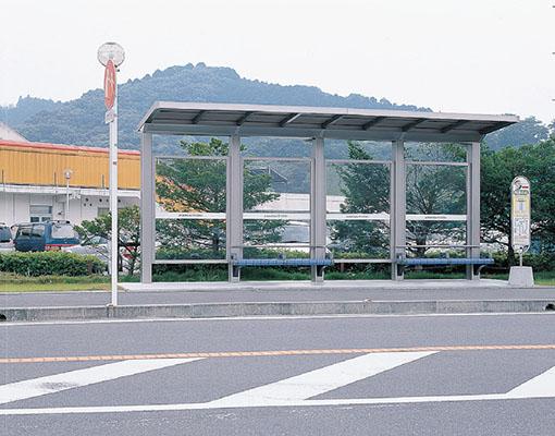 島田市コミュニティバス中央公園・バラの丘バス停