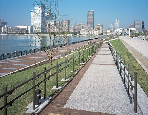 豊洲二丁目地区春海橋公園3