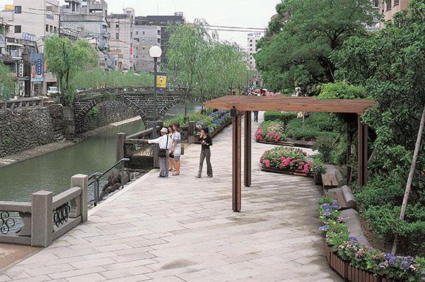 中島川公園1