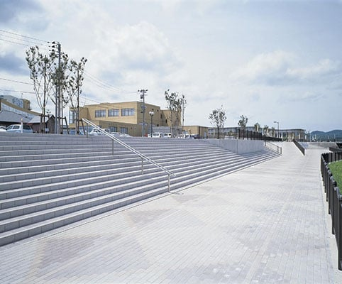道の駅おおうち(川の駅広場)1