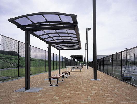 新横浜公園テニスコート1