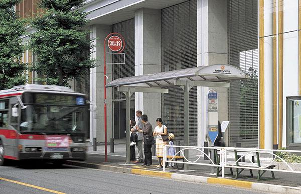 駒大深沢キャンパス前バス停1