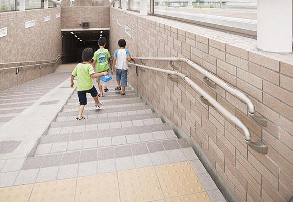 向中野横断地下歩道