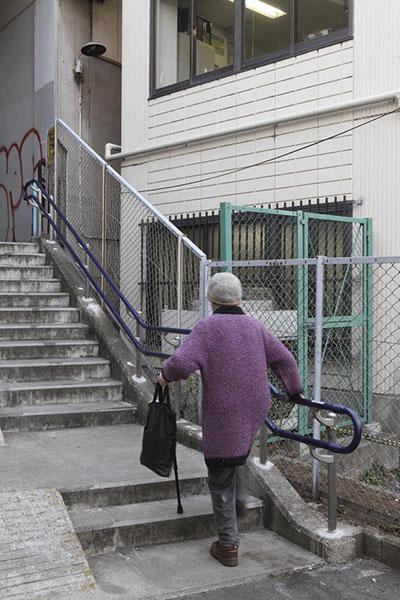 渋谷区内の階段1