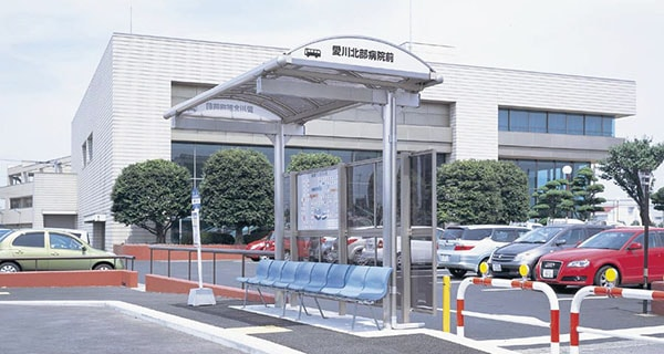 愛川北部病院前バス停