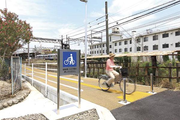 近鉄富田駅3