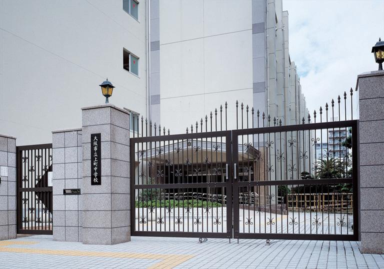 大阪市立上町中学校1
