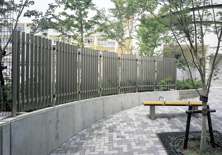 八千代市立萱田南小学校・生涯学習施設3