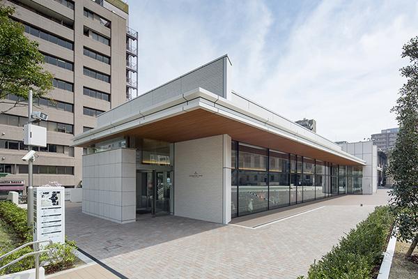 築地本願寺本堂&インフォメーションセンター2