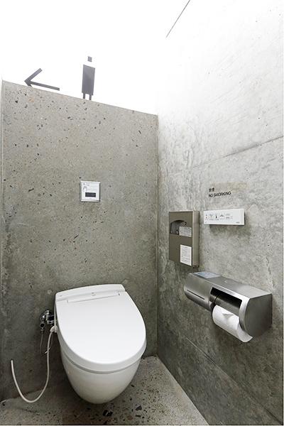 公共アートトイレ「石の島の石」2