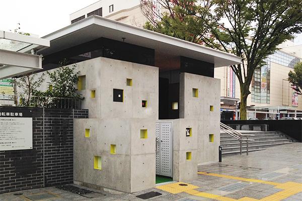 甲府駅南口駅前広場公衆トイレ5
