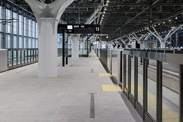 JR北陸新幹線富山駅