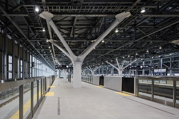 JR北陸新幹線富山駅2
