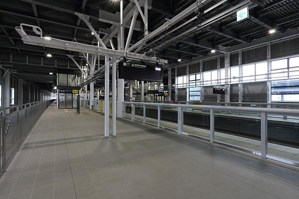 JR北海道新幹線新函館北斗駅