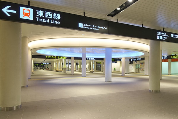 札幌市営地下鉄 南北線 大通駅2