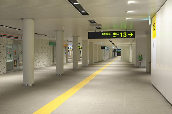 札幌市営地下鉄 南北線 大通駅3