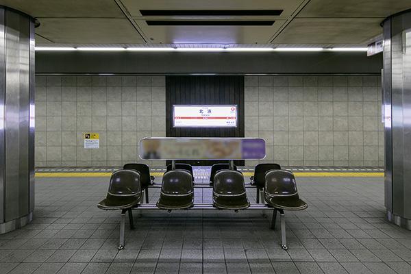 大阪地下鉄堺筋線北浜駅2