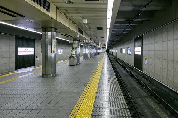 大阪地下鉄堺筋線北浜駅4