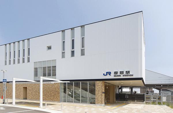 JR摩耶駅1