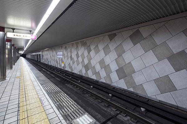 大阪地下鉄 谷町線 谷町九丁目駅2
