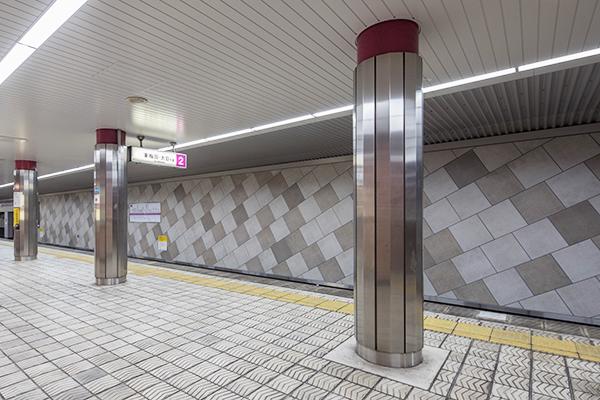 大阪地下鉄 谷町線 谷町九丁目駅3