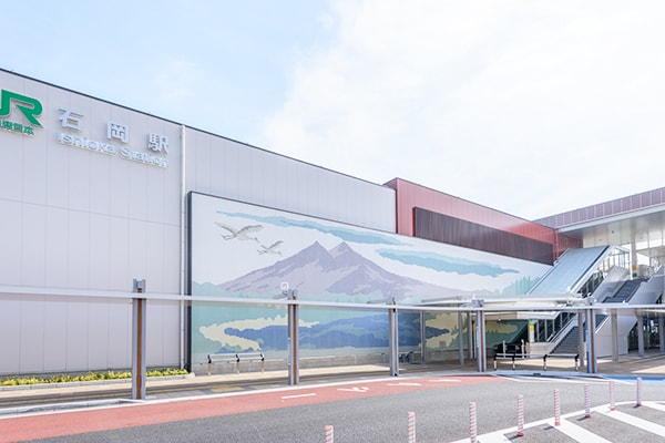 JR石岡駅1