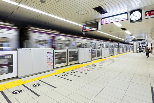Osaka Metro 東梅田駅1