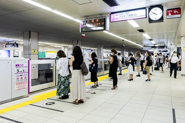Osaka Metro 東梅田駅2
