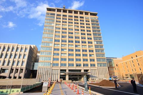 栃木県庁 行政棟1