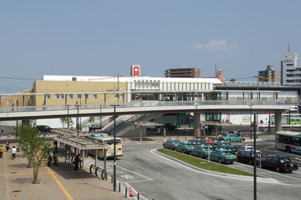狭山市駅西口駅前広場デッキ・市民広場デッキ1