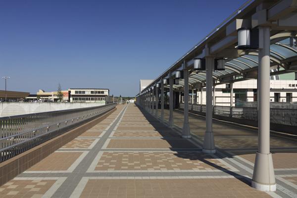 印西牧の原駅連絡橋2