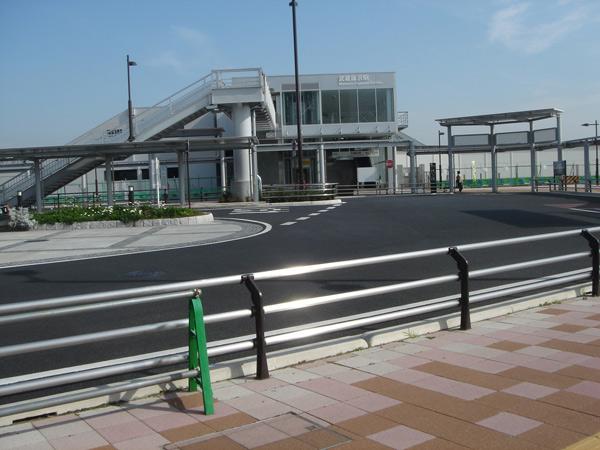 武蔵野藤沢駅西口交通広場整備工事