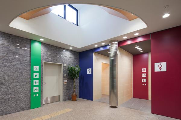 上田駅お城口トイレ1