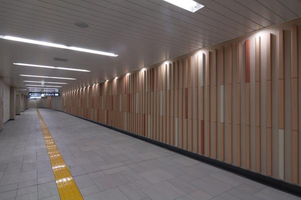 東京メトロ副都心線 北参道駅2