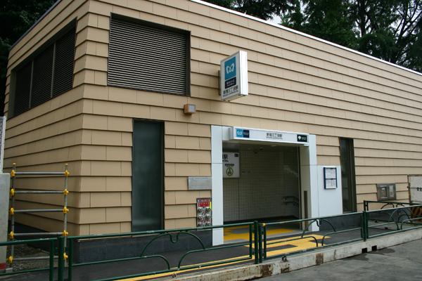 東京メトロ副都心線 新宿三丁目駅2