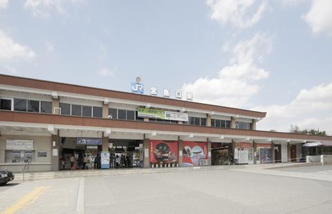 JR宮島口駅1