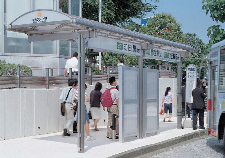東急たまプラーザ駅 北口広場バス停2