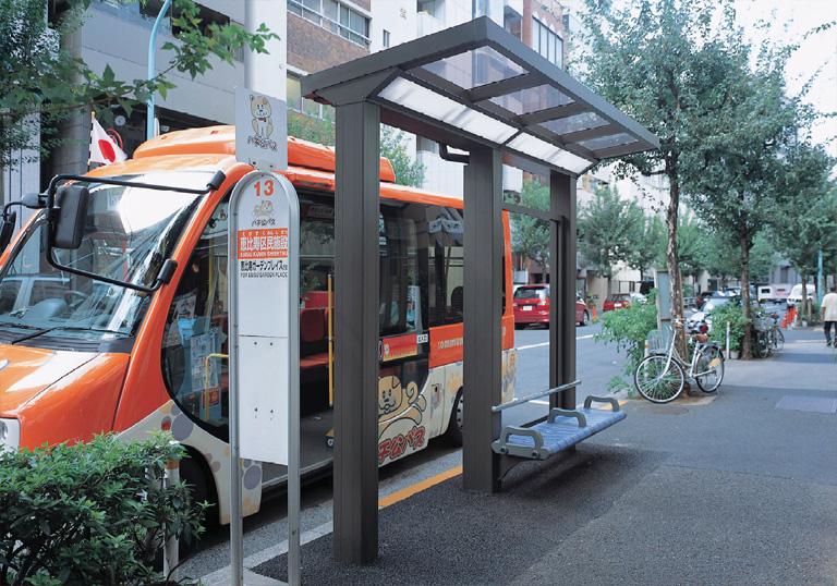 渋谷区コミュニティバス 恵比寿区民施設バス停1