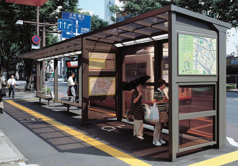 前橋市本町 バスの駅