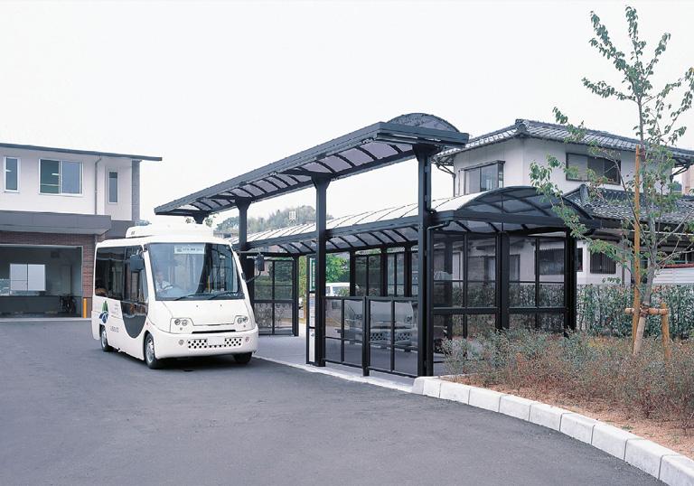 嘉麻市バス 生涯学習館・他 バス停1