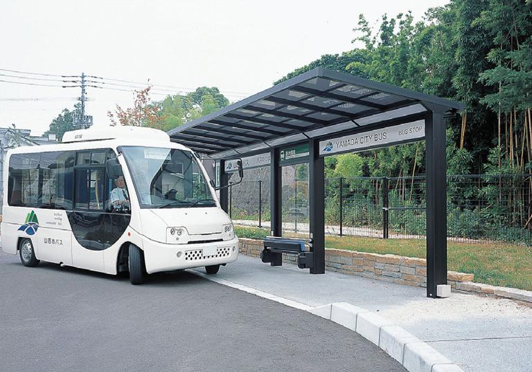 嘉麻市バス 生涯学習館・他 バス停2